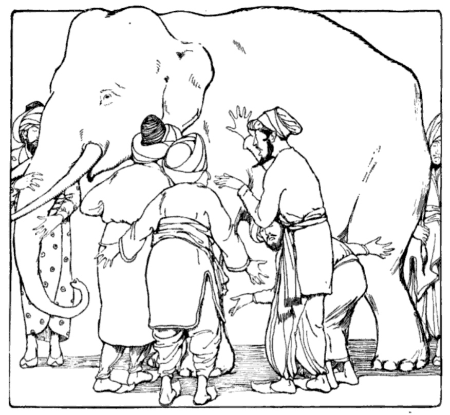 the blind men and the elephant - 876×808