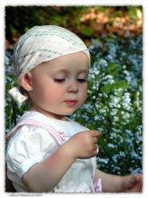 Дама с цветочком / Дети они всегда смотрятся мило !