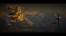 Весенняя Экебана с Лягушками... :) /