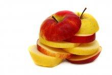 -А ты меня любишь? -Ага!  :) / яблочки