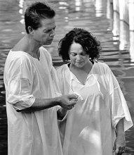 / Иордан, Израиль.   Крещение покаяния.