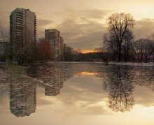 ...оттепель... / После долгой зимы...