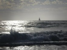 океан / вечер