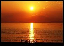 Рассвет над Белым морем. / ******