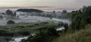 Миколині тумани... / 08.08.2021. річка Остер, село Бірки.