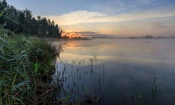 Утро на озере / ***