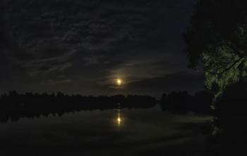 Ночная Десна... / 15.08.2021. речка Десна.