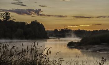 Миколині тумани... / 22.08.2021.. річка Десна.