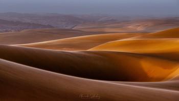 Вечер в дюнах / Берег Скелетов, Намибия
