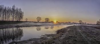 Миколині тумани... / 11.04.21. Чернігівщина, Козелець, річка Остер.