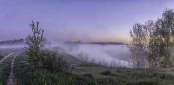Миколині тумани... / 09.05.2021. Чернігівщина, річка Остер, село Бірки.
