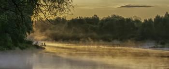 Миколині тумани... / 22.08.2021. річка Десна