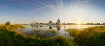 Твердыня Русского Севера / Кирилло-Белозерский монастырь. Сиверское озеро.
