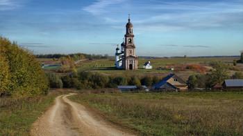 По просёлку / На подъезде к селу Нуча