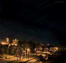 городская набережная... / Город Пинск,река Пина
