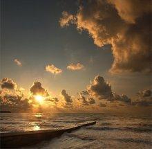 Морской рассвет / стихия