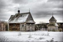 Драўляны цуд / царква і званіца 18 ст з Глыбоцкага раёна