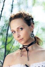 Ира Лесик / Моя модель Ира, художница.