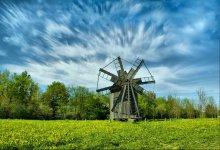 windmill / -----