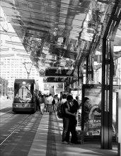 Трамвай и поцелуй / 1234Das Gluck