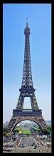 Парижская старушка / 8 горизонтальных кадров фокусное каждого кадра 100мм оригинальный размер 3937x11638pix (45Mp)