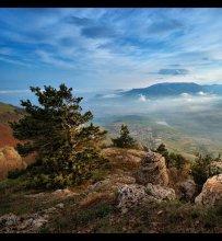 Предзакатная / Крым, вид с Демерджи  http://www.panoramio.com/photo/23857392