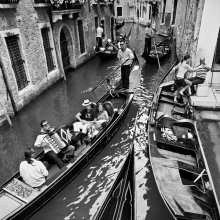 GONDOLLOTRAFFIC / Снято в Венеции. :)