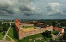 Лидский замок / F11 Панорама 5 вертикальных кадров