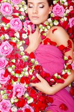 / цветы, подаренные мне на мою выставку...