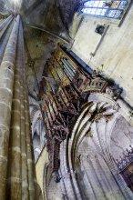 Арган / Арган кафедральнага сабора Барселоны, пачатак 14 стагоддзя.