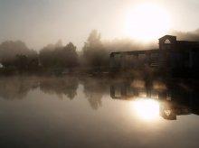 Владения Черной дамы / Несвиж, 2008. Лодочная станция на пруду Дикий.