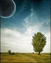И космос становится ближе...... / ... и открывает нам свои просторы....