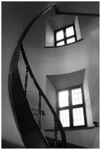 -5- / Лестницы королевского замка в Варшаве