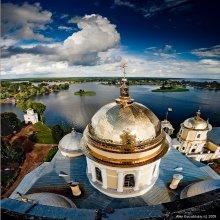 *с высокой колокольни / Фото сделано с колокольни Богоявленского Собора, монастырь Нилова пустынь. Приятного просмотра!