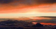 Кладовая солнца / Небо, рассвет, высота....