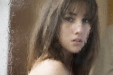 Когда плакал как ребенок дождь / модель Анастасия Таболина