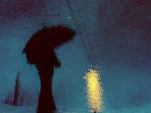 Дождливая / Бесконечная фотографическая тема отражений в воде....)