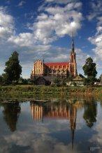 костел Троицкий  1899—1903 / Высота 61 м. Гродненская область, Беларусь.