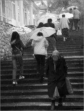 На краю... / Сергиев Посад. Дождь