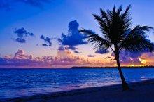 Рождение Солнца / Расвет на острове Гаити. Приятного просмотра.