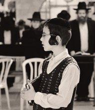 Еврейский мальчик / Иерусалим, Израиль.