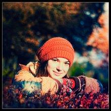 Цветной портрет / В осеннем парке