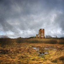 |   Замкавая вежа   | / Руины замка Белый Ковель, >1600 г. пос. Смоляны, Оршанский р-н, Витебской обл.