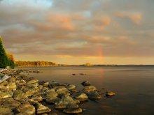 Про радугу / Карелия, Онежское озеро