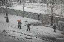 Акцент / первый снег
