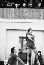 статико-динамическое напряжение / волейбол