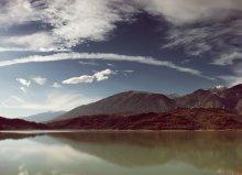 Радуга над Абруццо / Abruzzo 3 вертикальных кадра с рук, поляризационный фильтр