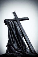 [ Крест не по силам не бывает ] / ...У входа в Фарный костел Св. Франциска Ксаверия в Гродно