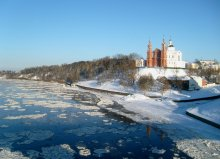 Замёрзший город.. / Витебск, 15 декабря,  на мосту  около -20 С.