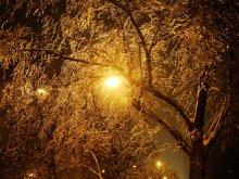 Кистью зимнего вечера..... / Новогодние кракелюры. С наступающим Новым Годом Всех!